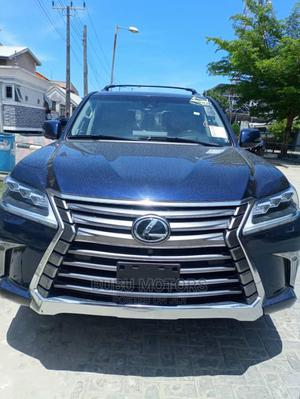 Lexus LX 2018 570 AWD Blue | Cars for sale in Lagos State, Ikeja