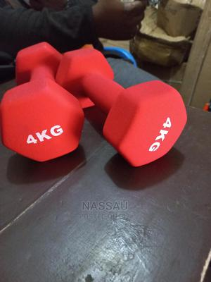 Pair of 4kg Aerobic Dumbbell | Sports Equipment for sale in Lagos State, Lekki