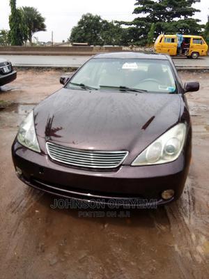 Lexus ES 2004 330 Sedan Brown | Cars for sale in Lagos State, Abule Egba