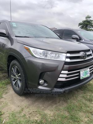 Toyota Highlander 2017 Brown | Cars for sale in Lagos State, Lekki