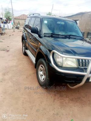 Toyota Land Cruiser Prado 2001 3.0 D-4d 5dr Black | Cars for sale in Abuja (FCT) State, Lugbe District