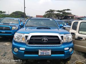 Toyota Tacoma 2008 4x4 Double Cab Blue | Cars for sale in Lagos State, Amuwo-Odofin