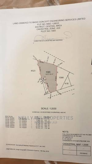 Commercial Land Measuring 6,217sqm for Sale | Land & Plots For Sale for sale in Abuja (FCT) State, Central Business District