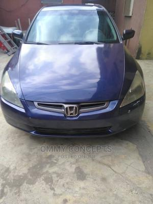 Honda Accord 2005 2.4 Type S Automatic Blue | Cars for sale in Lagos State, Ogba