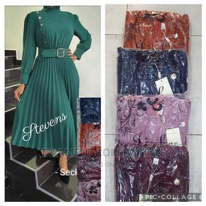 Female Quality Long Sleeve Printed Gown | Clothing for sale in Lagos State, Alimosho