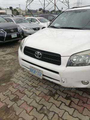 Toyota RAV4 2007 Sport 4x4 White | Cars for sale in Lagos State, Ajah