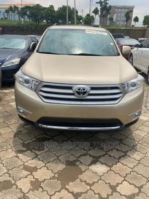 Toyota Highlander 2012 Gold | Cars for sale in Lagos State, Ikeja