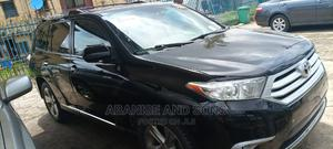 Toyota Highlander 2013 Limited 3.5l 4WD Black | Cars for sale in Lagos State, Surulere