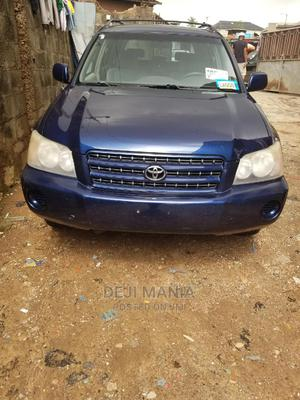 Toyota Highlander 2002 Limited V6 FWD Blue   Cars for sale in Lagos State, Ikeja