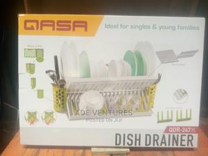 Qasa New Rustles 2 Tier Plastic Dish Drainer And Plate Rack   Kitchen & Dining for sale in Lagos State, Lagos Island (Eko)