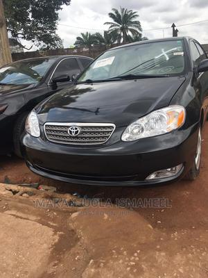 Toyota Corolla 2007 LE Black | Cars for sale in Lagos State, Alimosho