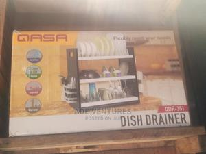Qasa New Rustless 3 Tier Plastic Dish Drainer and Plate Rack   Kitchen & Dining for sale in Lagos State, Lagos Island (Eko)