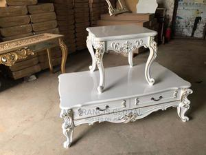 Center Table With Side Stool | Furniture for sale in Lagos State, Surulere