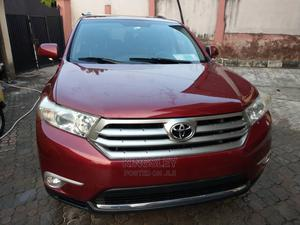 Toyota Highlander 2013 Limited 3.5l 4WD Red | Cars for sale in Lagos State, Isolo