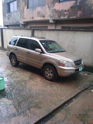 Honda Pilot 2005 EX 4x4 (3.5L 6cyl 5A) Gold | Cars for sale in Lagos State, Ojodu