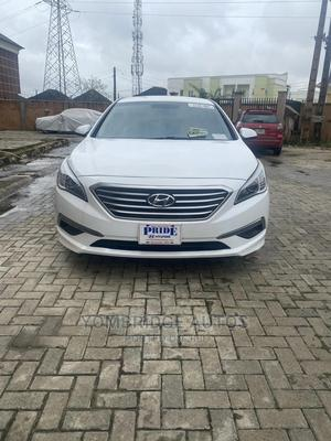 Hyundai Sonata 2015 White | Cars for sale in Lagos State, Magodo