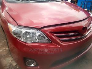 Toyota Corolla 2013 Red   Cars for sale in Lagos State, Ifako-Ijaiye