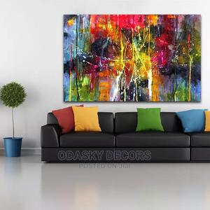 Colorful Abstract Painting for Living Rooms   Arts & Crafts for sale in Lagos State, Victoria Island