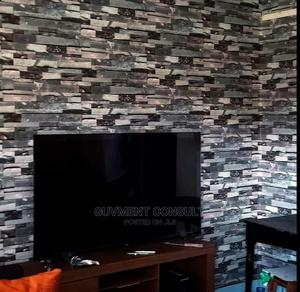 Installation of 3D Wallpaper, Wall Panels (Akinyele) | Building & Trades Services for sale in Oyo State, Akinyele