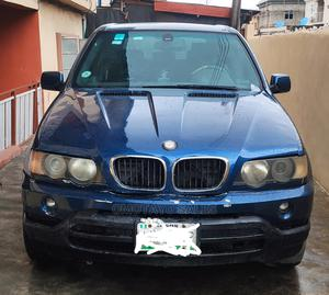 BMW X5 2002 3.0i Blue | Cars for sale in Lagos State, Surulere