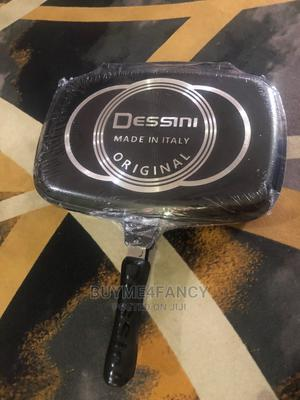 DESSINI DOUBLE GRILL PAN Non Stick Double Sided Grill Pan | Kitchen & Dining for sale in Lagos State, Amuwo-Odofin
