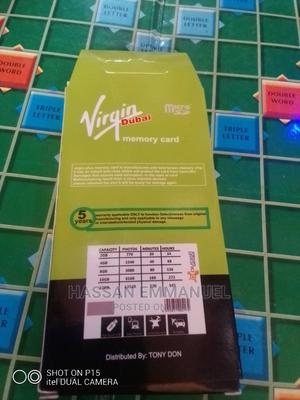 Virgin 8gb Memory Card   Accessories for Mobile Phones & Tablets for sale in Oyo State, Ibadan