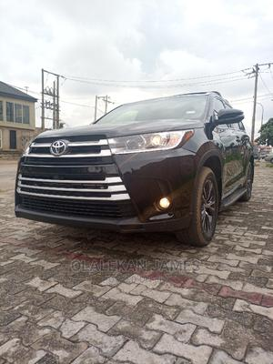 Toyota Highlander 2018 Black | Cars for sale in Lagos State, Alimosho