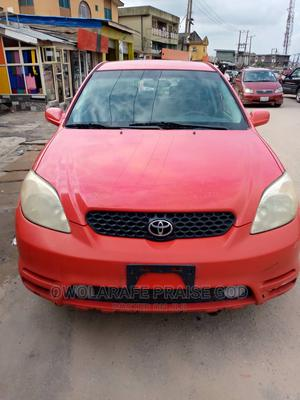 Toyota Matrix 2003 Red | Cars for sale in Lagos State, Ikeja