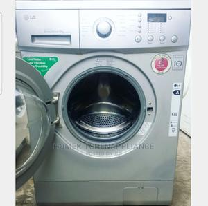 6kg Lg Inverter Drive Washing Machine + Payment on Delivery   Home Appliances for sale in Lagos State, Surulere