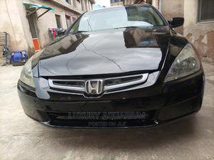 Honda Accord 2005 Automatic Black   Cars for sale in Lagos State, Ojodu