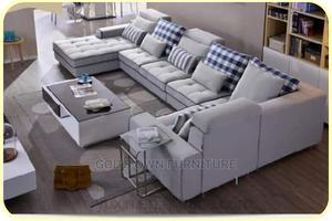 Quality Set of U-Shaped Fabric Sofa   Furniture for sale in Lagos State, Ikeja
