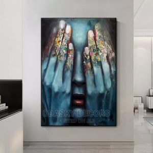 Fingers Abstract Wall Art Canvas Print   Arts & Crafts for sale in Lagos State, Tarkwa Bay Island