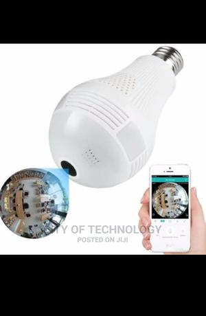 Wifi Spy Camera Light Bulb   Security & Surveillance for sale in Lagos State, Ikeja