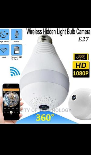 Wireless Spy Bulb Cam 360°   Security & Surveillance for sale in Lagos State, Ikeja