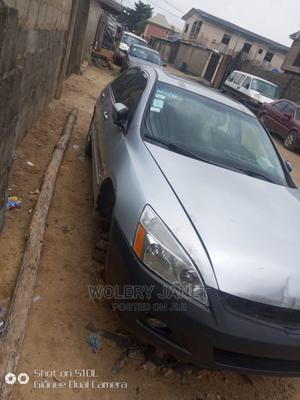Honda Accord 2005 Automatic Silver | Cars for sale in Lagos State, Ojo