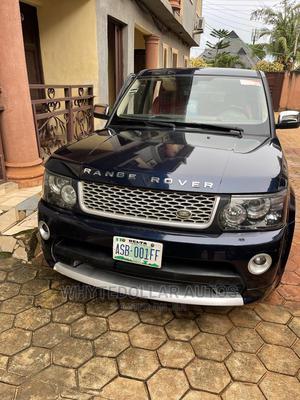 Land Rover Range Rover Sport 2008 4.2 V8 SC Blue | Cars for sale in Delta State, Oshimili South