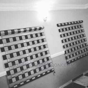 Striped Black and White Window Blinds   Home Accessories for sale in Delta State, Oshimili South