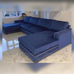 U-Shaped Fabric Sofa Can Come in Colors   Furniture for sale in Lagos State, Ajah