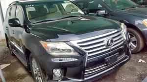 Lexus LX 2013 570 AWD Black   Cars for sale in Lagos State, Ikeja