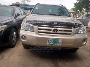Toyota Highlander 2005 4x4 Gold | Cars for sale in Lagos State, Ikeja