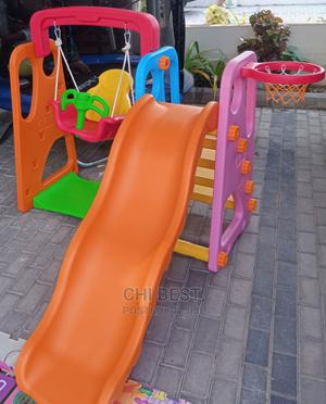 Children 3 in 1 Slide, Swing and Basketball for School. | Toys for sale in Lagos State, Lagos Island (Eko)