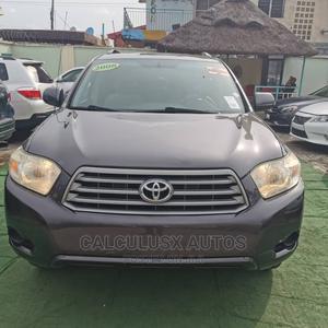 Toyota Highlander 2008 Sport Gray   Cars for sale in Lagos State, Ilupeju