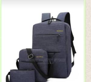 3in1 Waterproof Backpack With USB Charging Cord | Bags for sale in Oyo State, Ibadan