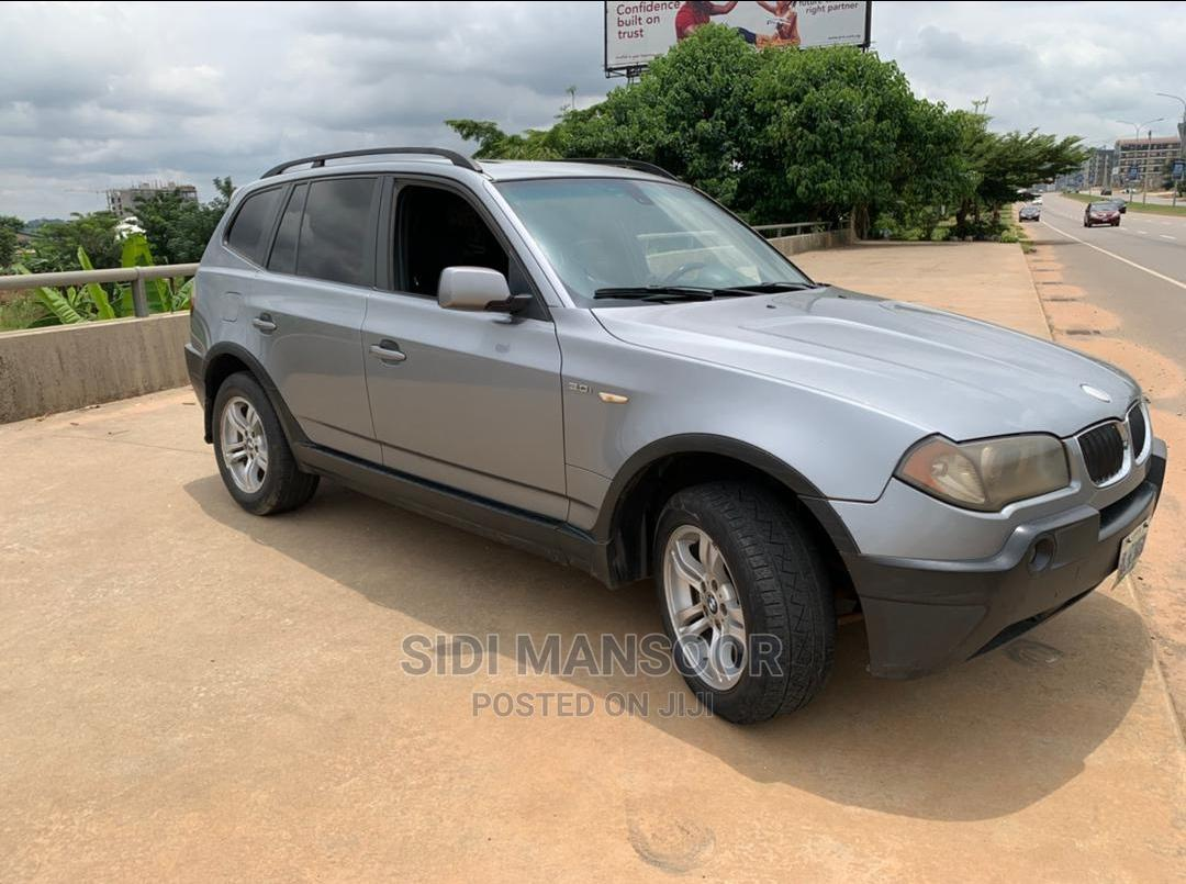 BMW X3 2005 3.0i Gray | Cars for sale in Central Business District, Abuja (FCT) State, Nigeria