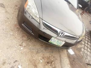 Honda Accord 2007 Sedan EX-L V-6 Gray | Cars for sale in Lagos State, Isolo