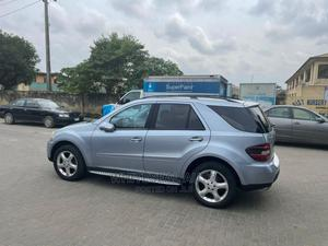 Mercedes-Benz M Class 2007 ML 350 4Matic Blue   Cars for sale in Lagos State, Surulere