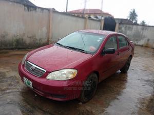 Toyota Corolla 2003 Sedan Red   Cars for sale in Lagos State, Ilupeju