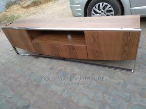 Wooden Television Stand With Metal Base | Furniture for sale in Abuja (FCT) State, Central Business District