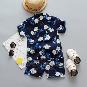 Quality Vintage Short Shirt Set | Children's Clothing for sale in Rivers State, Port-Harcourt