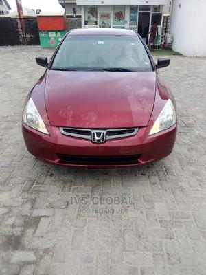 Honda Accord 2005 Red | Cars for sale in Lagos State, Ajah